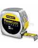 Ruleta PowerLock Classic STANLEY cu carcasa ABS 5m x 19mm