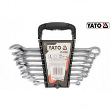 Set 10  chei combinate  7-24 mm YATO