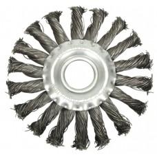 Perie  circulara din sarma 150 mm x 20 mm cu toroane VOREL
