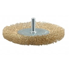 Perie circulara din sarma cu tija 75 mm VOREL