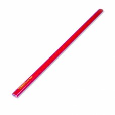 STANLEY Creion tamplarie rosu mina tip HB 176 mm