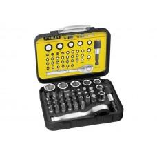 Set accesorii insurubare cu prelungitor magnetic 40 de piese STANLEY