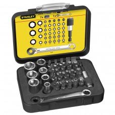 Set accesorii insurubare cu prelungitor magnetic STANLEY