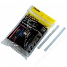 Adeziv tip baton transparent 11 mm x 100 mm 24 de bucati STANLEY