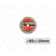 Disc diamantat segmentat 85 mm x 10 mm WET RAIDER