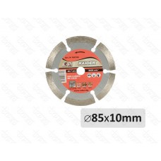 Disc diamantat segmentat 85 mm x 10 mm DRY RAIDER