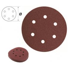 Rezerva smirghel velcro 10 buc pentru Slefuitoare orbitale. 150 mm. K150