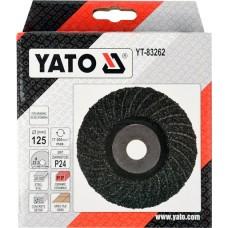 YT-83262 YATO DISC PENTRU SLEFUIT UNIVERSAL, 125MM,  P24