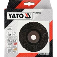 YT-83263 YATO DISC PENTRU SLEFUIT UNIVERSAL, 125MM, P36