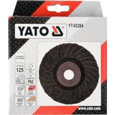 YT-83264 YATO DISC PENTRU SLEFUIT UNIVERSAL, 125MM, P60
