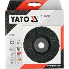 YT-83265 YATO DISC PENTRU SLEFUIT UNIVERSAL, 125MM, P80