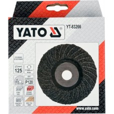 YT-83266  YATO DISC PENTRU SLEFUIT UNIVERSAL, 125MM, P120