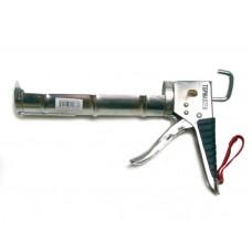 Pistol metalic cromat pentru tub silicon Top Strong