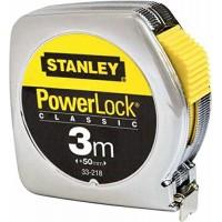 STANLEY Ruleta PowerLock cu carcasa ABS 3m x 19 mm