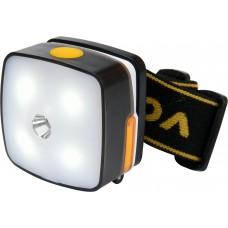 Vorel  Lanterna pentru cap 4 leduri 3W acumulator litiu ion 850mAh