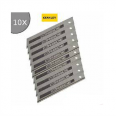 Set 10 lame segmentate FatMax cu carbura Tungsten 18 mm STANLEY