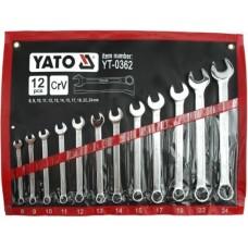 Set 12 chei combinate 8-24 mm YATO