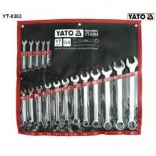 Set 17 chei combinate 8-32 mm YATO