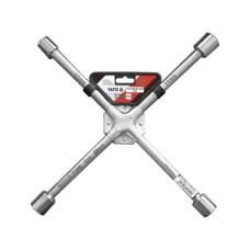 Cheie tubulara in cruce pentru roti CrV 17x19x21x22 mm YATO