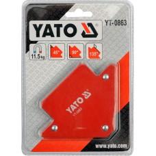 Dispozitiv magnetic fixare pentru sudura 82x120x13 mm YATO