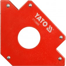 Dispozitiv magnetic fixare pentru sudura 122x190x25 mm YATO