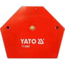 Dispozitiv magnetic fixare pentru sudura 111x136x24 mm YATO