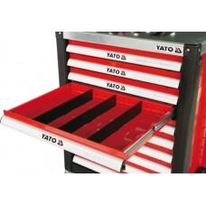 Separator dulap scule 391x58x4 mm pentru YT-0902-0905 YATO