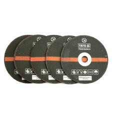 Set 5 discuri pentru taiat metal 75x2x9.5 mm YATO