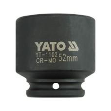 Cheie tubulara de impact dimensiunea 52 mm YATO