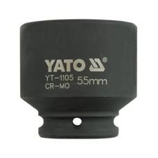 Cheie tubulara de impact dimensiunea 55 mm YATO