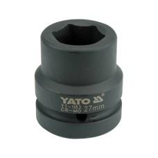 Cheie tubulara hexagonala de impact prindere 1 tol 27 mm YATO