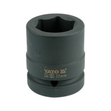 "Cheie tubulara hexagonala de impact 1"" de 32 mm YATO"