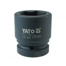 "Cheie tubulara hexagonala de impact 1"" de 38 mm YATO"