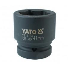 "Cheie tubulara hexagonala de impact 1"" de 41 mm YATO"