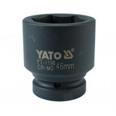 Cheie tubulara hexagonala de impact prindere 1 tol 46 mm YATO