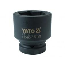 "Cheie tubulara hexagonala de impact 1"" de 48 mm YATO"