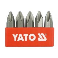 Set 5 biti stea PH2 36 mm YATO