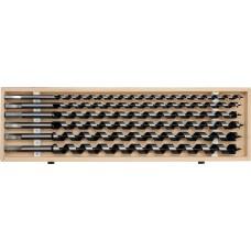 Set burghie elicoidale pentru lemn 10-20 mm YATO