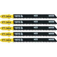 Lame HCS pentru fierastrau pendular 5 buc 10 TPI YATO