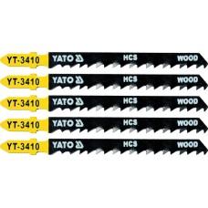 Lame pentru fierastrau pendular HCS 5 buc 6 TPI YATO