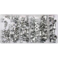 Set 150 nituri aluminiu M3-M10 YATO