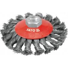 Perie rotunda alama fir rasucit bormasina prindere M14 100 mm YATO