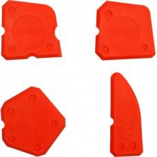 Set de 4 spatule pentru silicon YATO