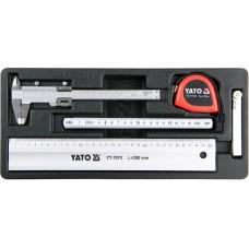 Set 5 instrumente pentru masurat pentru dulap scule YATO