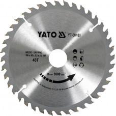 YATO Disc circular pentru lemn 190 x 30 x 3,2 T40