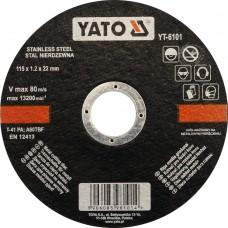 Disc debitat metale 115x1.2x22 mm YATO