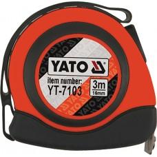 Ruleta carlig magnetic 3 m x 16 mm YATO