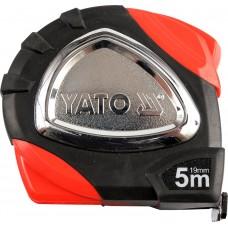 Ruleta cu carlig magnetic 5 m x 19 mm YATO