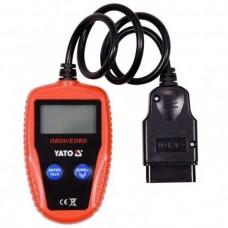 Tester Diagnostic Auto OBD2, EOBD cu alimentare directa Yato YT-72977