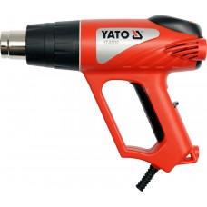 Suflanta aer cald 2000 W cu termostat analogic si accesorii YATO